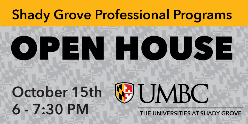 Shady Grove Professional Programs Open House