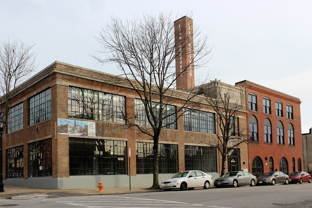 Outside view of the Lion Brothers Building
