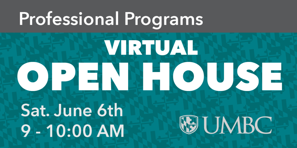 Professional Programs Virtual Open House, Sat. June 6th, 9AM