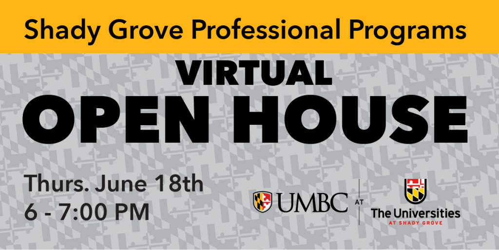 Shady Grove Virtual Open House, Thurs. June 18th, 6PM