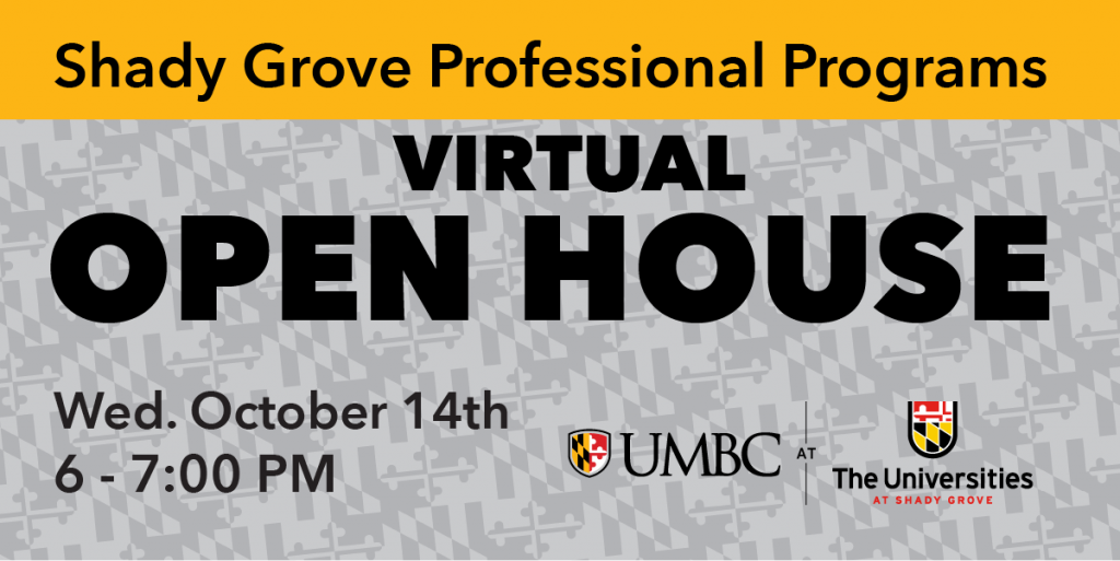Shady Grove Virtual Open House - October 14th 6 to 7 PM